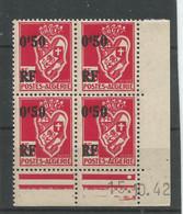 Algérie 133 - 1946 N° 247 Coin Daté - Unclassified