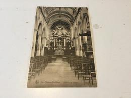 CP Ancienne Neuve De Sart-Dames-Avelines : Intérieur De L.église - Villers-la-Ville