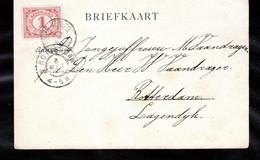 Kleinrond ROTTERDAM-VENLOO Op Nr. 51 En Grootrond ROTTERDAM Op Ansicht - Brieven En Documenten