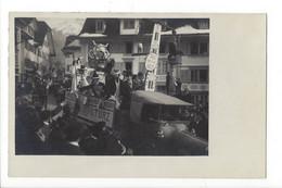 27271 -   Carte Photo Carnaval Geld Regiert Die Welt Camion La Mort Et Sa Faux - Te Identificeren