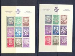 BL10/10A  Postgaaf ** MNH Prachtig 40 Côte - Blocks & Kleinbögen 1924-1960