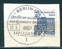 A01-04-06) Berlin - Mi 245 ⨀ Auf Δ - 40Pf   Bauten Klein - Gebruikt