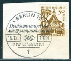A01-04-06) Berlin - Mi 246 ⨀ Auf Δ - 50Pf   Bauten Klein - Gebruikt