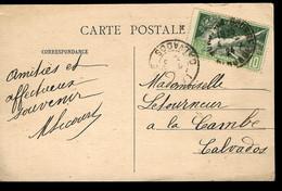 JEUX OLYMPIQUES PARIS 1924 - OBLITÉRATION LA CAMBE (CALVADOS) - Verano 1924: Paris