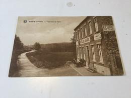 CP Ancienne De Villers-la-Ville : Vue Vers La Gare - Villers-la-Ville