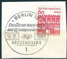 A01-04-10) Berlin - Mi 247 ⨀ Auf Δ - 60Pf   Bauten Klein - Gebruikt