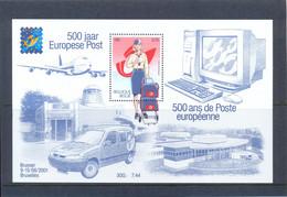 BL91  Postgaaf ** MNH PRACHTIG - Blocks & Kleinbögen 1962-....