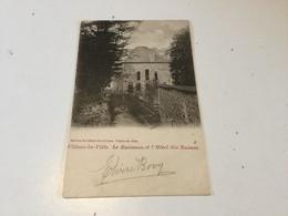 CP Ancienne De Villers-la-Ville : Le Ruisseau Et L'hôtel Des Ruines (1902) - Villers-la-Ville