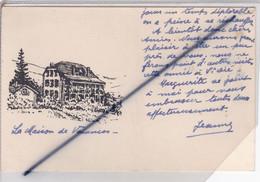 Waldersbach (67) La Maison De Vacances (en Dessin) - Altri Comuni