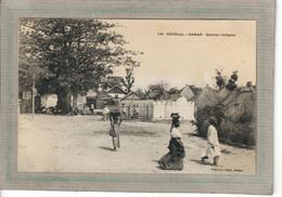 CPA - DAKAR - SENEGAL - Aspect Du Quartier Indigène En 1900 - Senegal