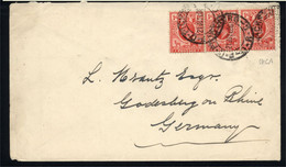 Orange River Colony - King Edward VII - P.O. Ficksburg 21 JUY 06 To Germany - Africa (Other)