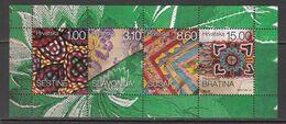 2018 Croatia Culture Art Handicrafts  Souvenir Sheet MNH @ BELOW FACE VALUE - Croatie