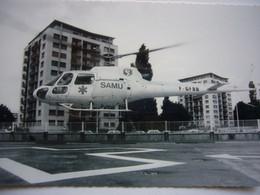 Avion / Airplane / SAMU Helicopter / Eurocopter AS 350 B / Hôpital Général Héliport - Elicotteri