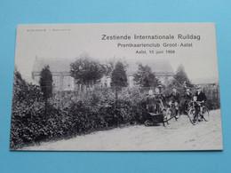 Zestiende Internationale Ruildag Prentkaartenclub Van Groot Aalst / Anno 1999 ( Zie Foto's ) Repro HERDERSEM ! - Collector Fairs & Bourses