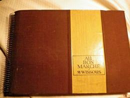 AU BON MARCHE - CATALOGUE ECHANTILLONS TISSUS AMEUBLEMENT - 1969 - 91 WISSOUS - - Decoración De Interiores