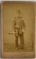 CDV Militaire. Infanterie ? Trompette. Photographe Gustave Boscher. Amiens. France. - Oud (voor 1900)