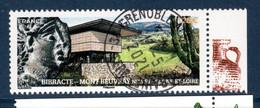 France 2021. De Mini Feuille Mont Beuvray Nievre- Saône Et Loire.cachet Rond . - Used Stamps