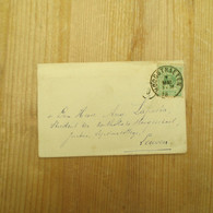 Hoogstraten 1888 - Enveloppes-lettres