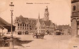 Diksmuide - Groote Plaats - Stadhuis - Dixmuide * - Diksmuide
