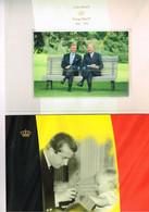 ROIS ALBERT II ET PHILIPPE DE BELGIQUE : Prestation De Serment. Bloc Neuf. 2013. Dans Sa Gaine D'origine. - Familias Reales
