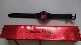 Montre Moulin Rouge Paris Cabaret    Jamais Portée - Watch - Orologi Pubblicitari
