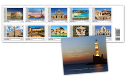 GREECE STAMPS 2021/CRETE ISLAND LANDSCAPES-19/5/21-MNH-SELF ADHESIVE-BOOKLET - Unused Stamps