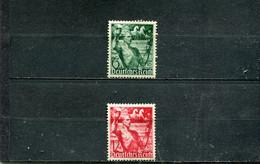 Allemagne 1938 Yt 603-604 * - Nuovi