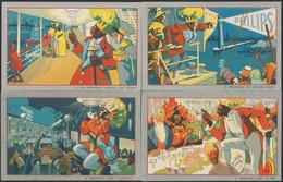 Carte Postale (CPA - Publicité) : Le Roi Moustafa, Série De 12 CP Complètes Thème : Lampes Philips Argenta / Neuves - Reclame