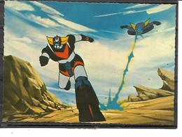 """Théme-Bandes Desinées- """"GOLDORAK """"Le ROBOT De L'ESPACE- Emission Antenne 2-Television-N° 3 GK 79 0002 - Comics"""