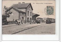 CAYEUX SUR MER - La Gare Intérieure - Très Bon état - Cayeux Sur Mer