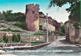 SPIGNO SATURNIA. Castello. Torre. Ristorante. Bar. Forchettoni.  55rb - Latina