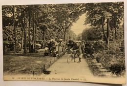 LE BOIS DE VINCENNES.— Le Pourtour Du Jardin Colonial - Vincennes