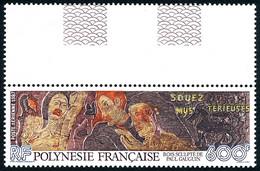 POLYNESIE 1987 - Yv. PA 198 **   Faciale= 5,04 EUR - Bois Sculté De Paul Gauguin  ..Réf.POL25628 - Unused Stamps