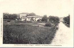 AMEREY  -  Environs De Xertigny  -  Le Château Perrin Et La Grande Rue - Other Municipalities