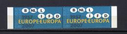 BELGIQUE BELGIE   IDEES EUROPEENNES   XX MNH - European Ideas