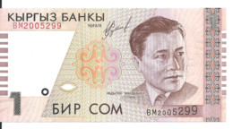KIRGHIZISTAN 1 SOM 1999 UNC P 15 - Kyrgyzstan