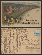 Carte Postale - Souvenir De Jehay-Bodegnée / Voyagée > St-Servais, Oostende-Dover - Amay