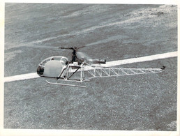 Photo - Aviation - Hélicoptère Aérospatiale Marignane - Aviazione