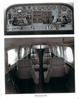 Photo - Aviation - 1980 Cessna 340, Intérieur Et Poste De Pilotage - Aviation