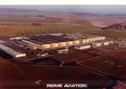 Photo - Aviation - Vue Aérienne De Reims Aviation - Aviation