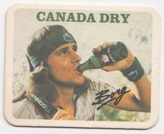 Tennis Borg Canada Dry Ancien Sous-bock Coaster - Beer Mats