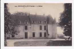 CP 72 DOUILLET LE JOLY Le Chateau - Autres Communes