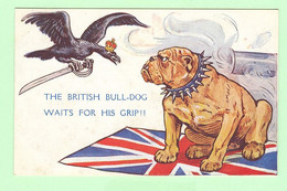 K1158 - Royaume Uni - Grande Bretagne - Illustration The British Bull Dog - Drapeau, Flag, Patriotic, War - Non Classés