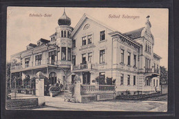 B50 /   Bad Salzungen Bahnhofs Hotel 1912 - Bad Salzungen