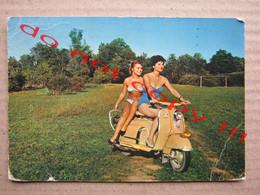 Motorcycle - Motorbike - Moto - Motorcyclist - Motorcycling - Vespa, Girls, Swimsuits ... ( 1963 ) - Motorbikes