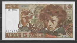 "Billet 10 Francs ""Berlioz"" -  2/3/1978 Billet Neuf - 10 F 1972-1978 ''Berlioz''"