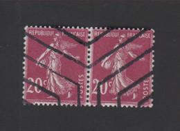N° 190, 20 C Semeuse Annulation Hexogonale - 1906-38 Sower - Cameo