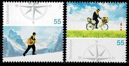 Bund 2005,Michel# 2447 - 2448 ** Postzustellung - Unused Stamps