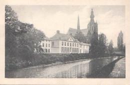 Aerschot-Kerk,Demer En Voorloopig Stadhuis. - Aarschot