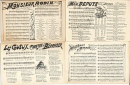 Lot De 15 CP De Chansons D'antan - 5 - 99 Postkaarten